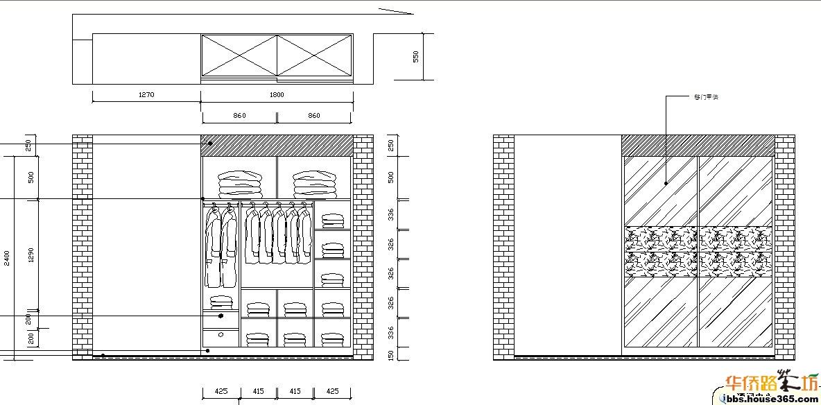 衣柜的设计图