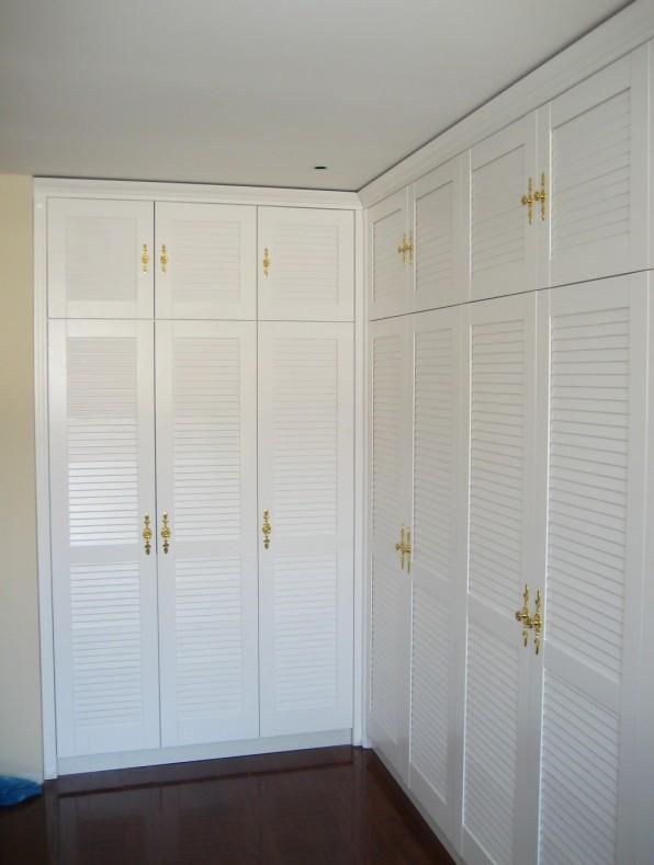 卧室定制衣柜设计图 定制衣柜内部设计图