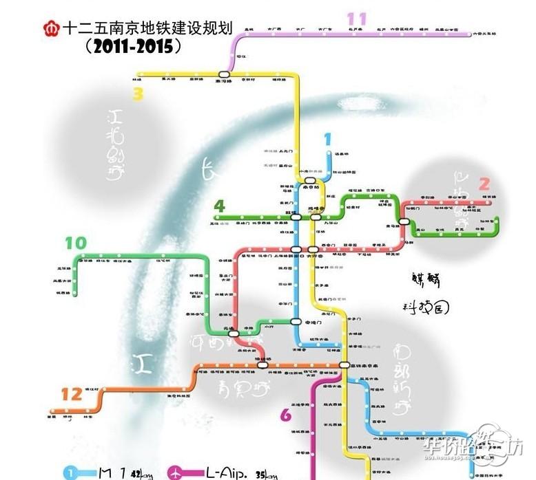 南京市地铁线路图 南京地铁线路图清 南京地铁2号线线路图 南京地铁图片