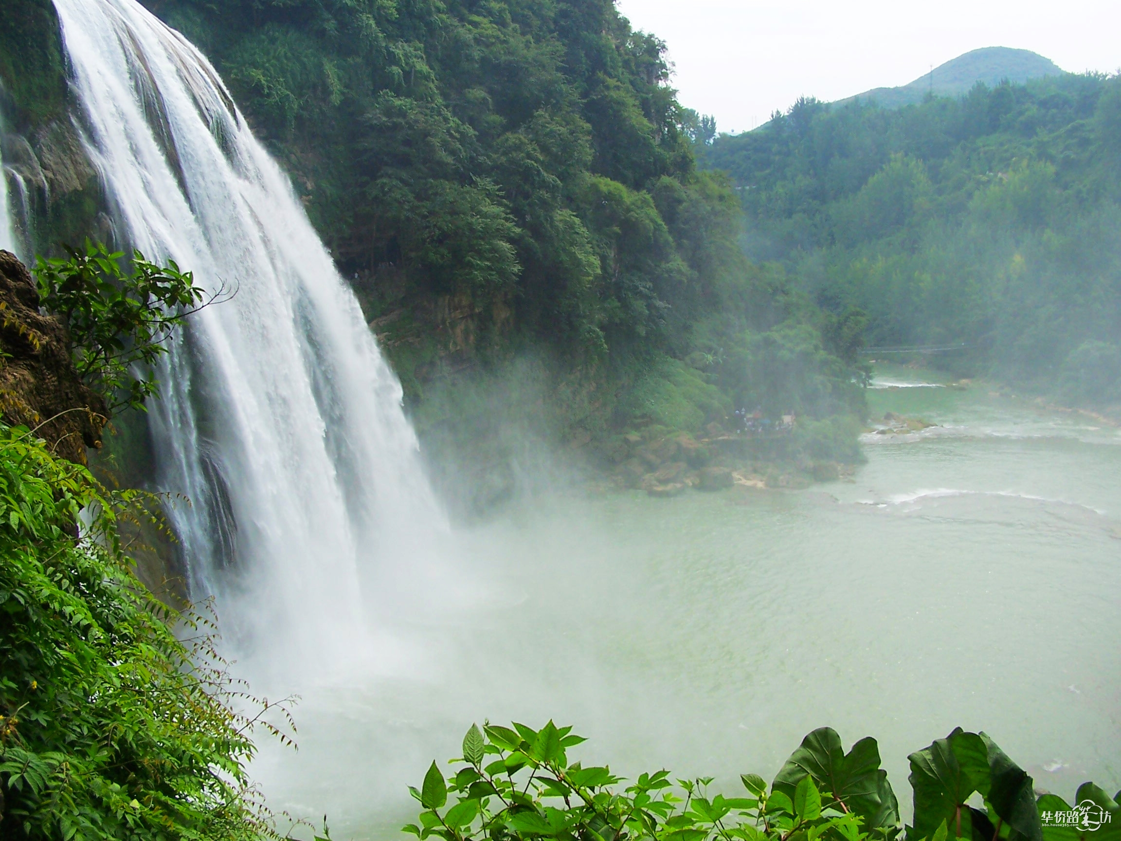 大自然的神奇----黄果树瀑布