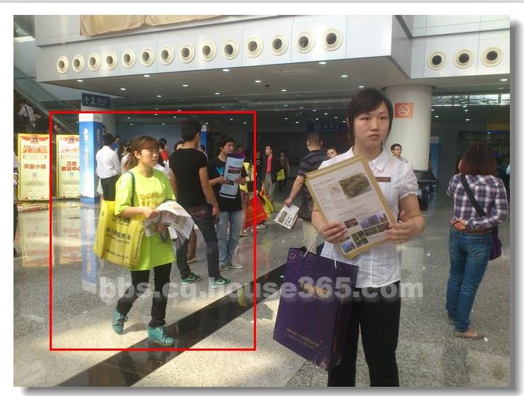 重庆2013春交会美女这盘菜还没上 先尝尝别的