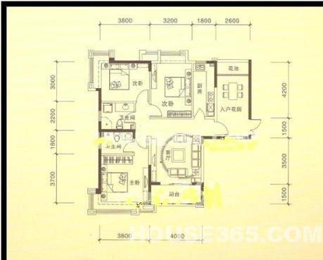 套房水电设计图三室一厅分享展示