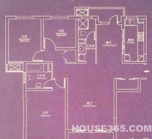 四楼电气电路图