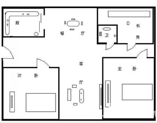 马鞍山路地铁口 联邦花园3室2厅精装无税 小区中间 世纪阳光中学