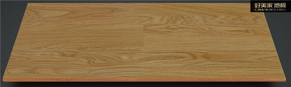 好美家地板 实木复合 实木多层 黑核桃1014 美洲 15厚