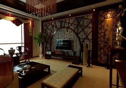 寓 赏190平中式家装设计效果图高清图片