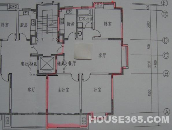 【下关安怀村453号二手房,3室2厅1卫185万元】中央北.
