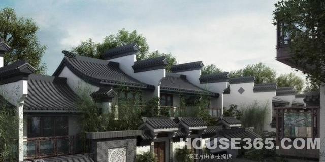 中式徽派别墅