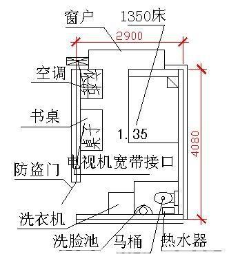 冰箱空调洗衣机电路图