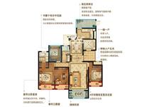 D户型3+1房2厅2卫约141平