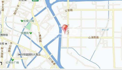 苏州东环路地图