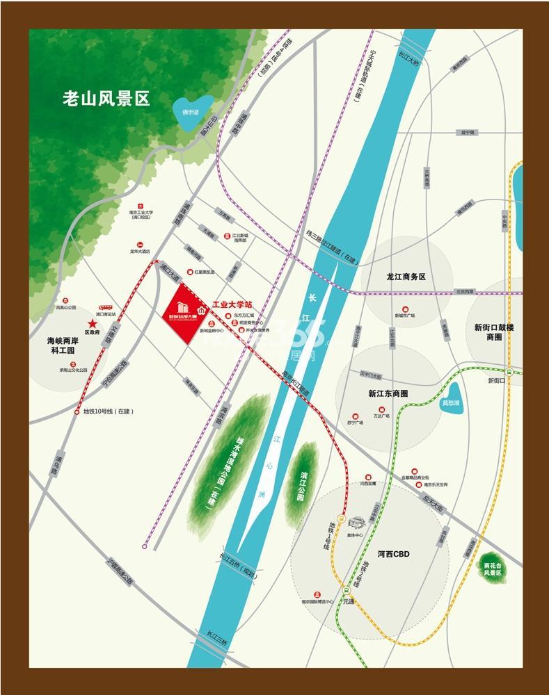 posco首尔总部地图