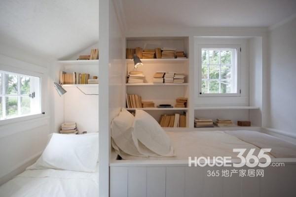 家庭客服装修效果 家庭客房装修效果图:清爽明亮的客卧设