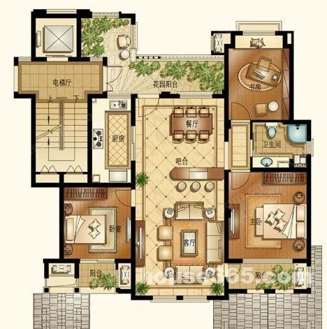 农村出租房平面设计图