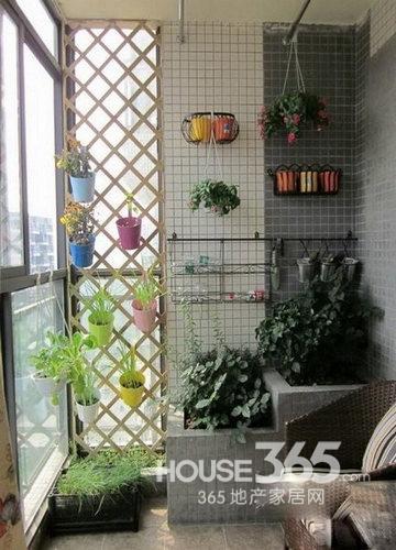 小阳台装修效果图 用心打造惬意休闲空间-365地产