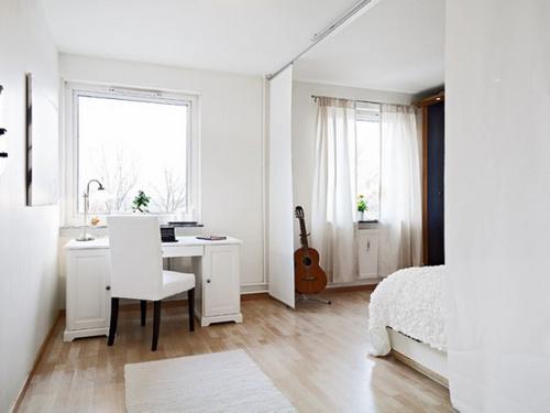 66平米北欧风格装修 白色空间浪漫动人(图)-365地产