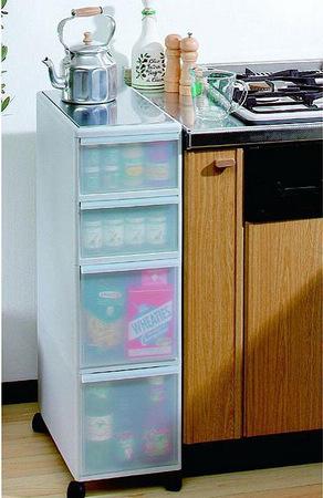 小面积厨房装修效果图 13妙计扩充收纳空间