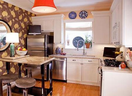 小户型厨房装修效果图 11款白色简约设计欣赏