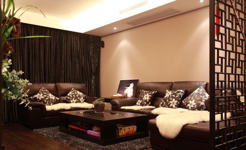 客厅窗帘效果图 精致软装成为家居最大亮点-365地产