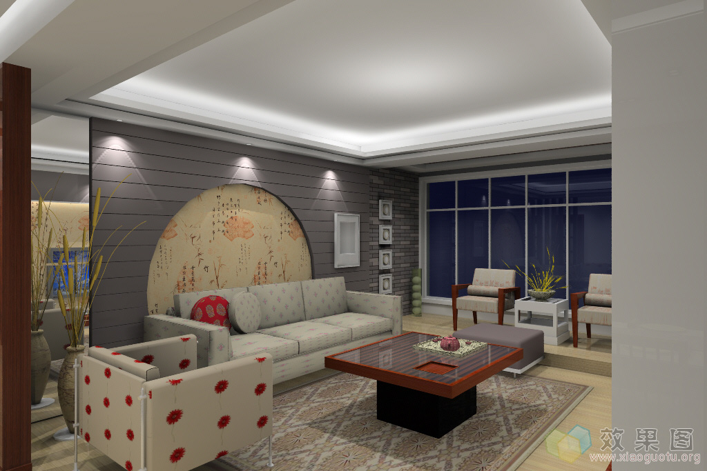 家庭客厅装修案例秀 赏绝美样板间