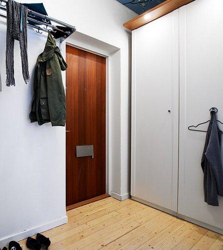 35平米小户型装修 黑白主调晒瑞典风小公寓