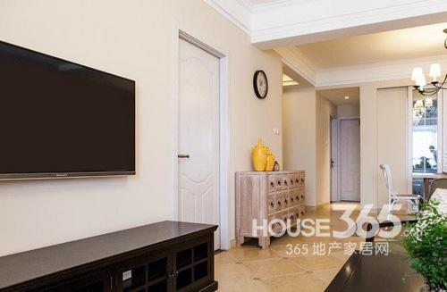 两室两厅装修效果图 105平米个性美式复古风情-365网