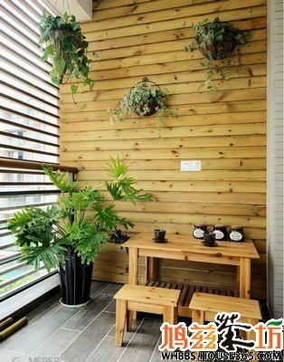 小型阳台装修效果图,教您合理利用小阳台.