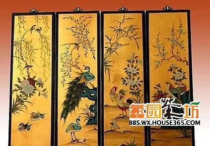 中式家具手绘效果图 打造浪漫家居