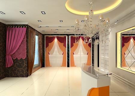窗帘展厅设计,窗帘展厅设计效果图