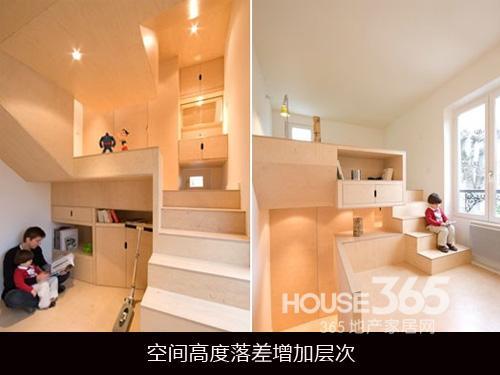 ④使用推拉门 增加通透感 在卧室与其相连阳台中间安装落地窗与推