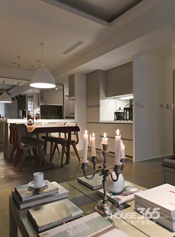 现代家装设计效果图 线条简约的北欧风情