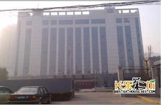 西安市临潼区国土局办公楼全景